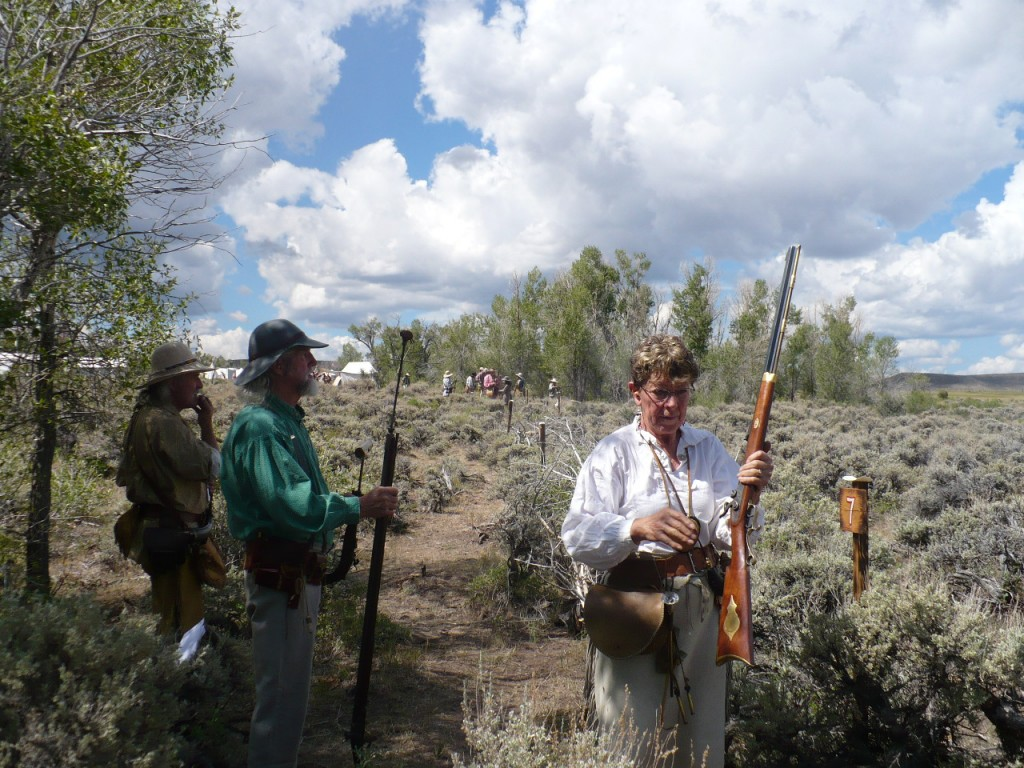 Black powder shooting rendezvous