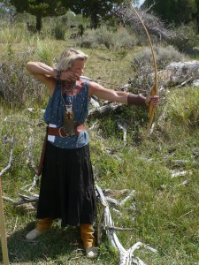 Primitive archery at rendezvous