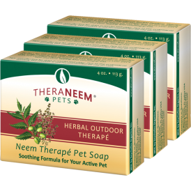review of Organix south theraneem dog soap