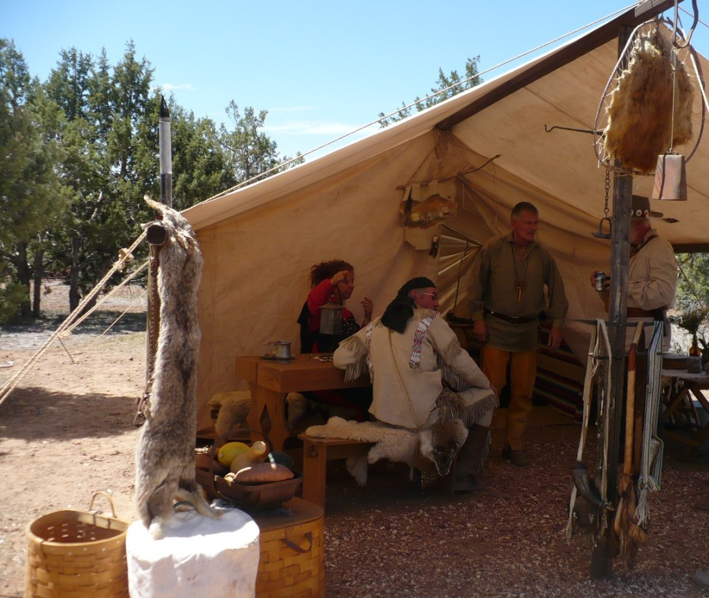 Mountain man rendezvous, anasazi free trappers