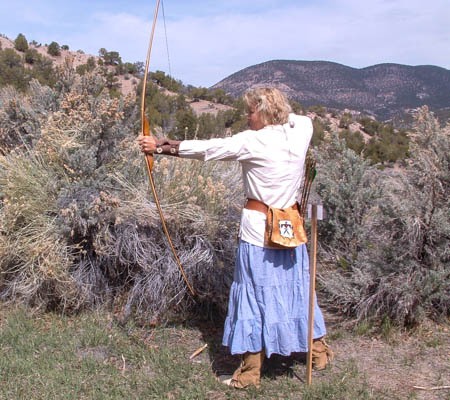 mountain man rendezvous,primitive archery