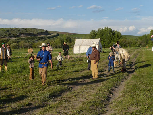 Camp Henry mountain man rendezvous