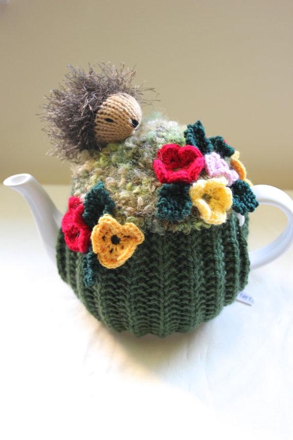hedge hog tea cozy