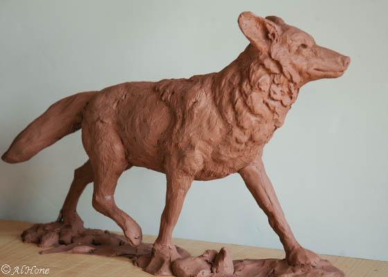 Coyote sculpture (1 of 1)-3