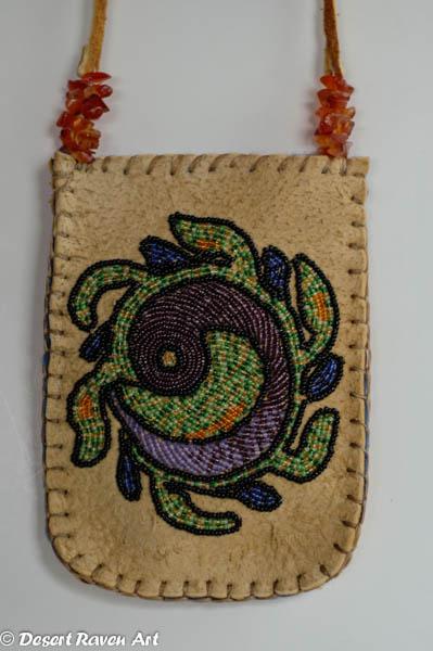 Artsy Fartsy custom beaded pouch