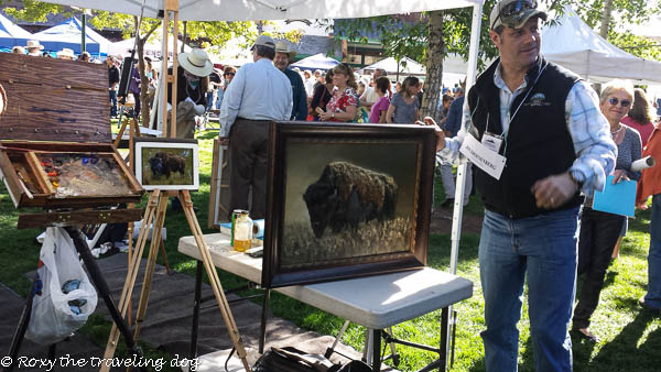 Artsy Fartsy Tuesday - The quick draw Jackson Hole