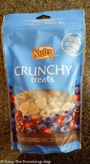 my review Nutro crunchy treats