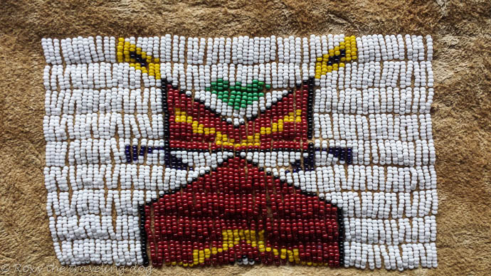 Artsy fartsy projects, beadwork bag