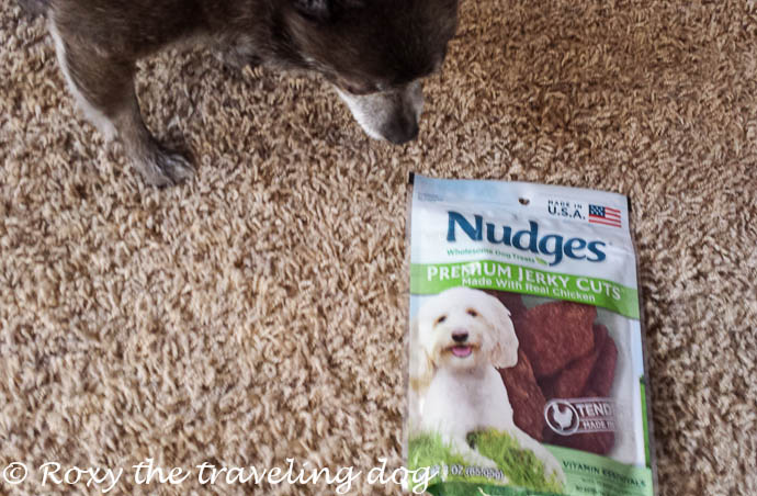 Made in the USA Nudges dog treats