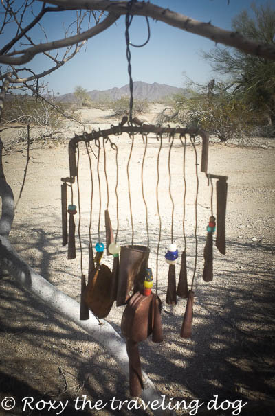 re-purposed wind chime