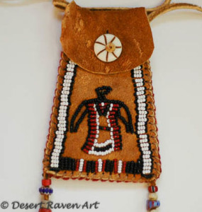 Strike a light bag , beadwork