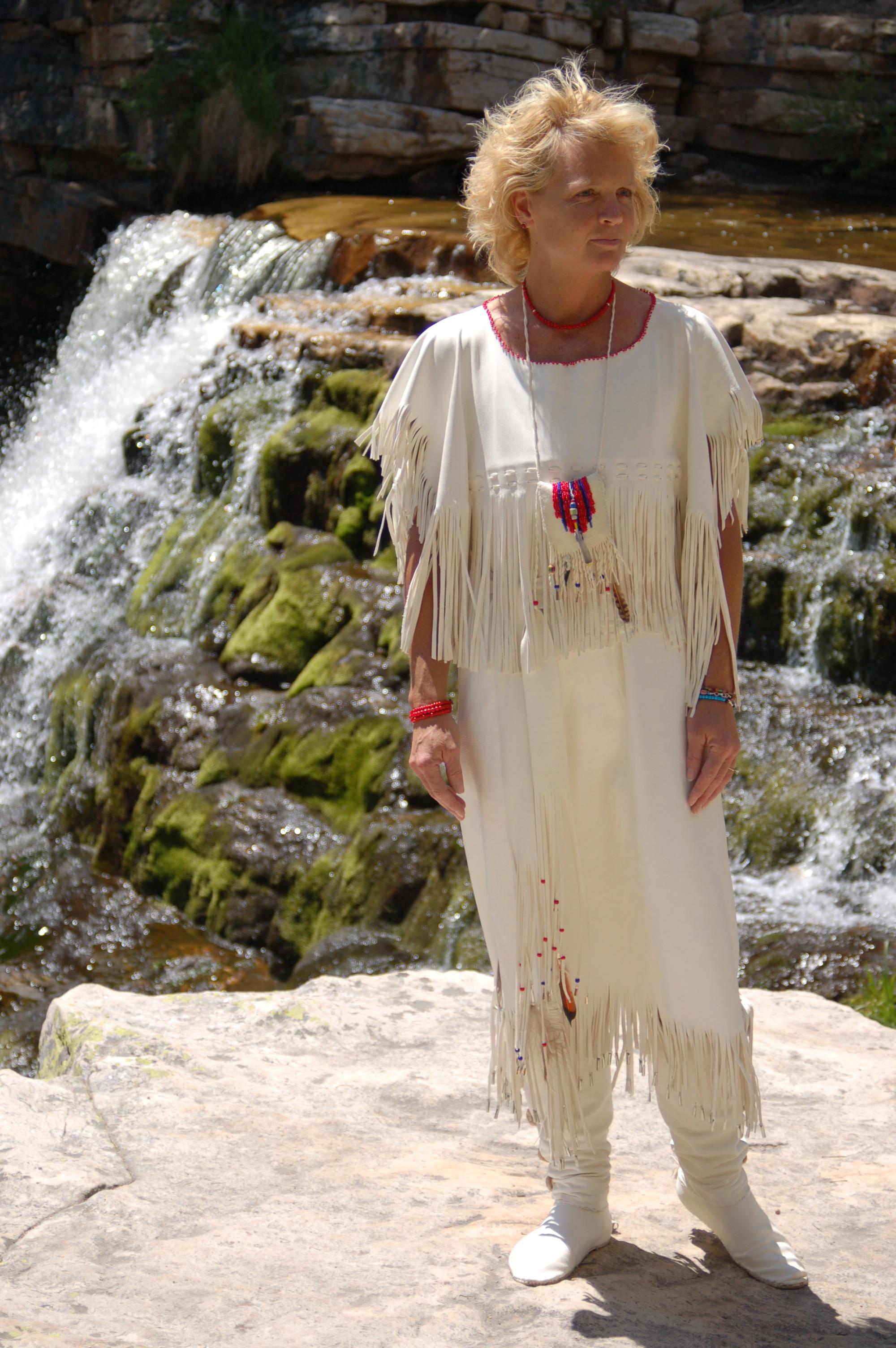 White Buckskin Wedding Dress Tales From The Backroad