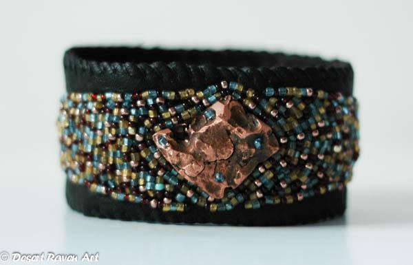 Roxy's boutique, beadwork bracelet