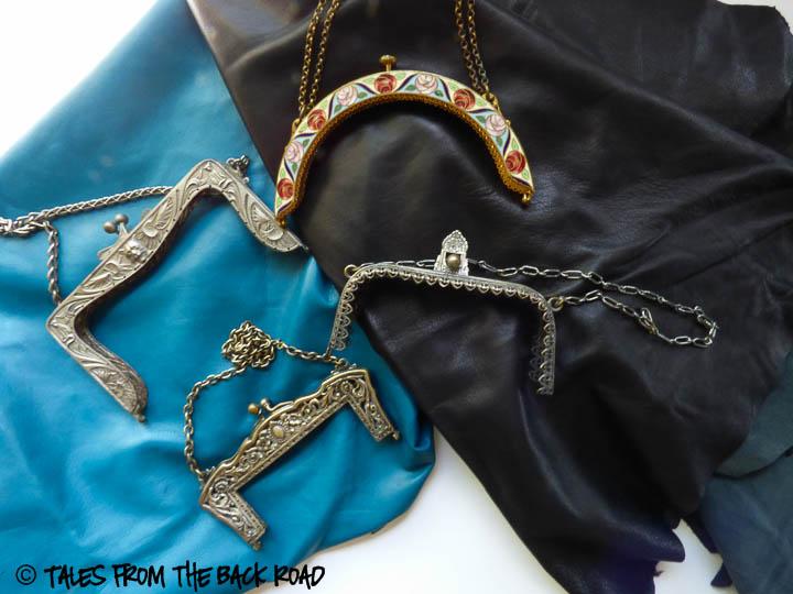 Vintage purse frames