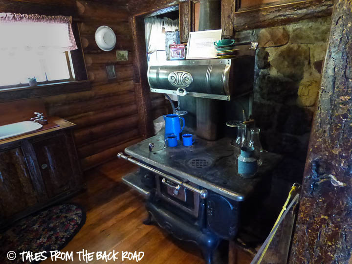 Johnny Sack cabin kitchen