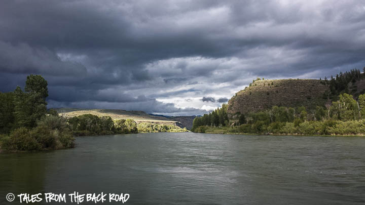 Snake river in Idaho