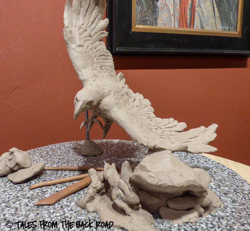 eagle sculpture getting started