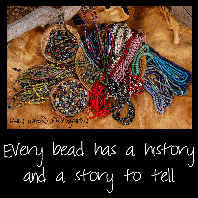 Old trade beads