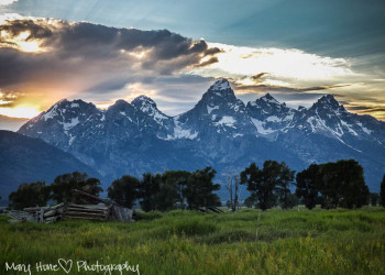 The Tetons Mary Hone photography