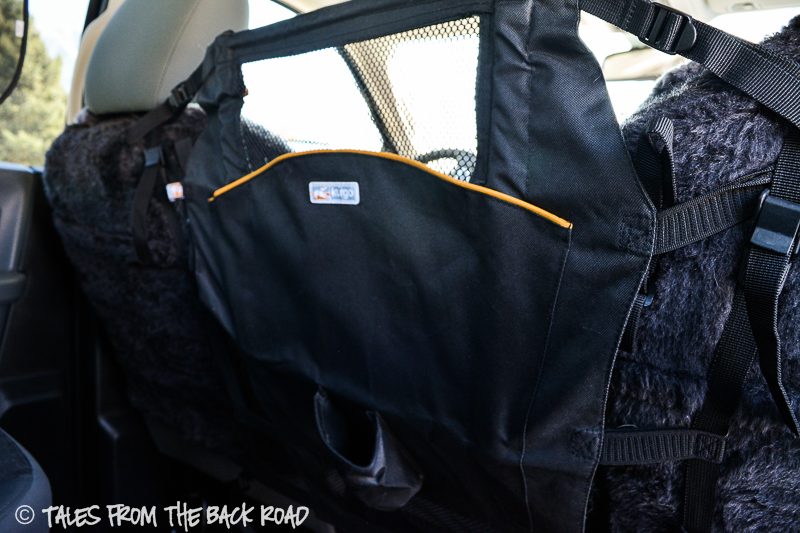 Review of the Kurgo back seat barrier