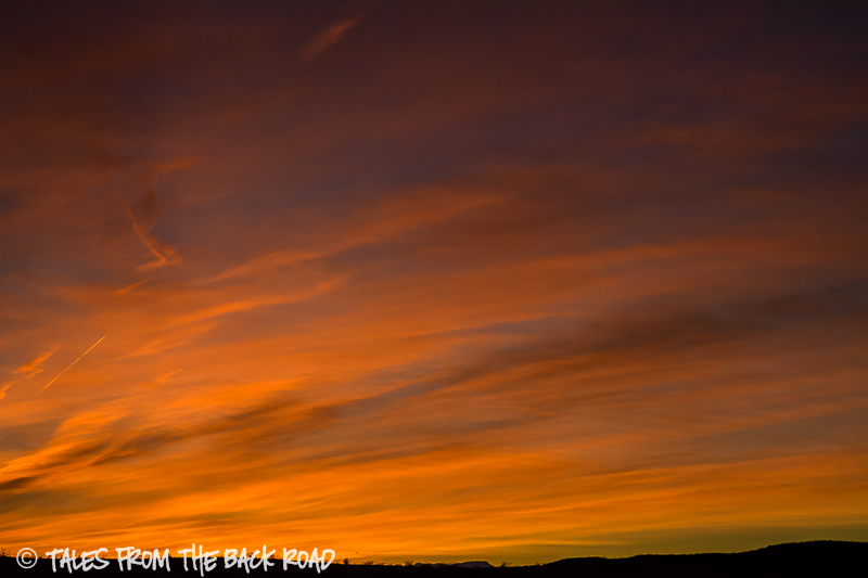 Finally a sunset