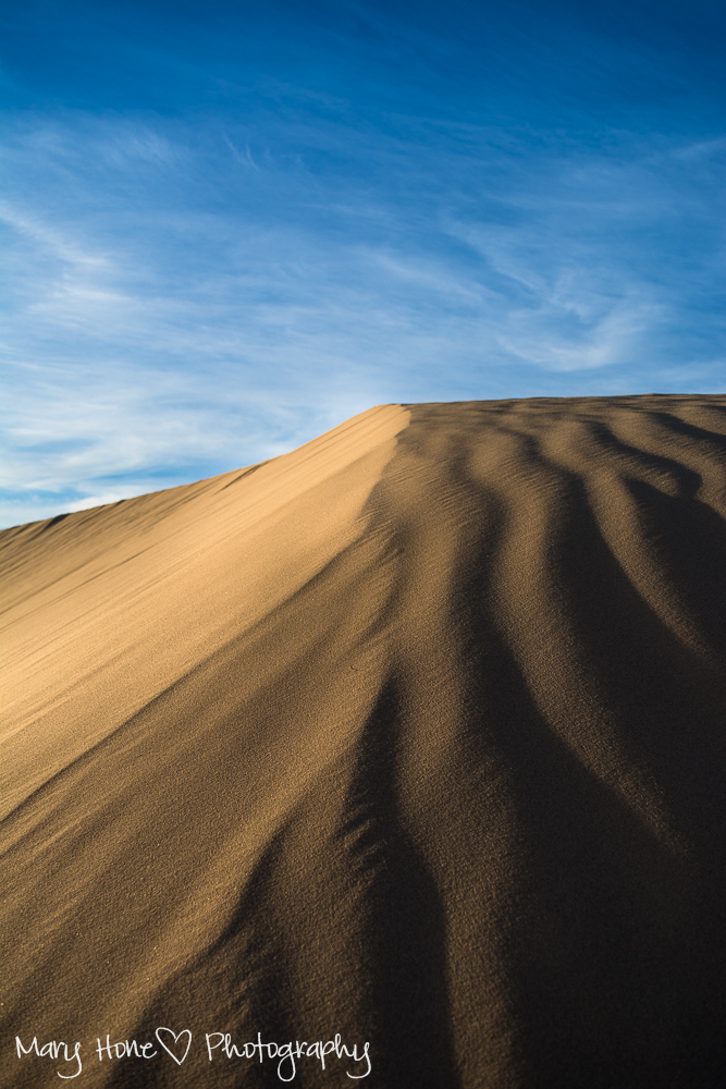 Imperial sand dunes in Arizona