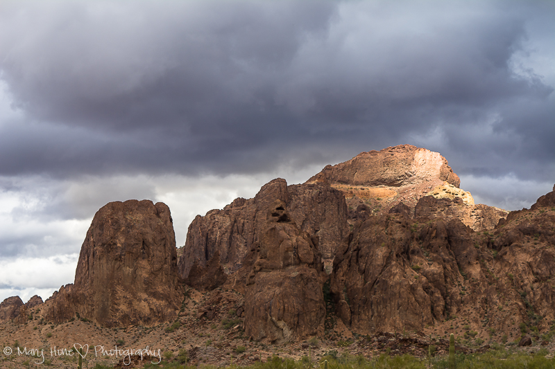 Rugged and beautiful Kofa mountains