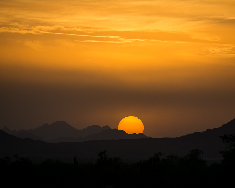 Sunset sun Print 171