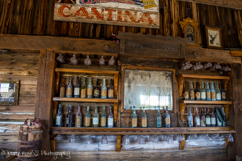 Cantina at the Castle Dome mine museum