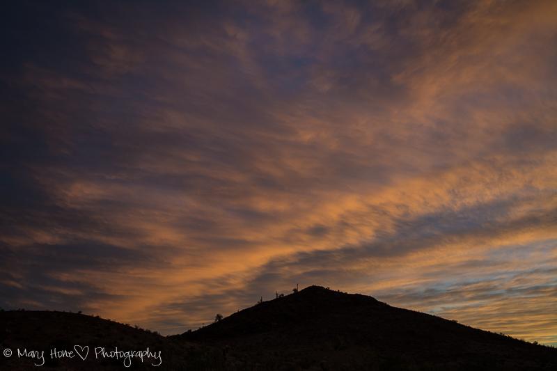 Nothing like a desert sky