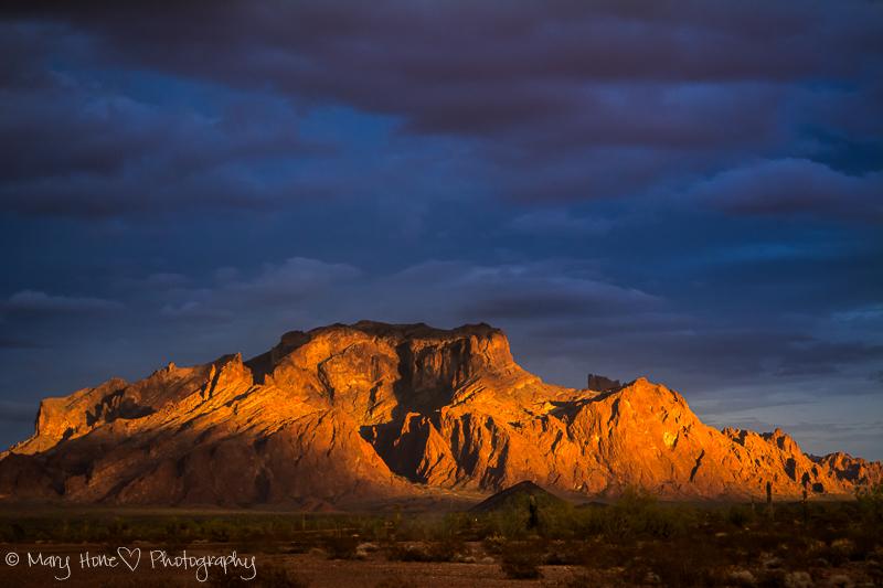 Kofa Mountains in Arizona