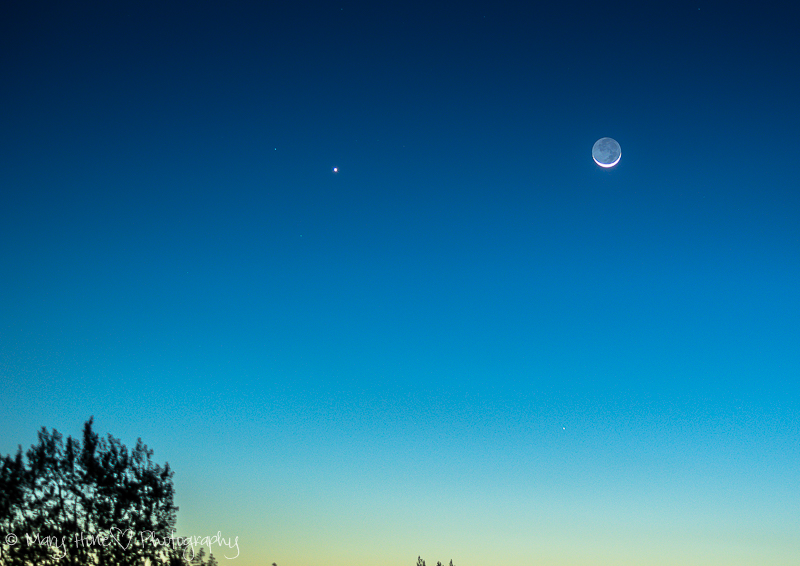 The best photos so far. Moon and venus