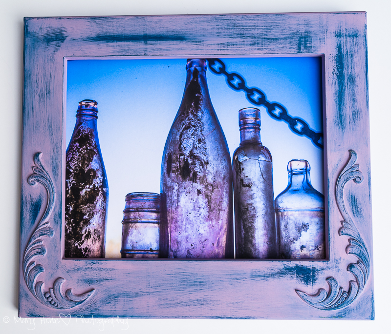 One of a kind photo frame