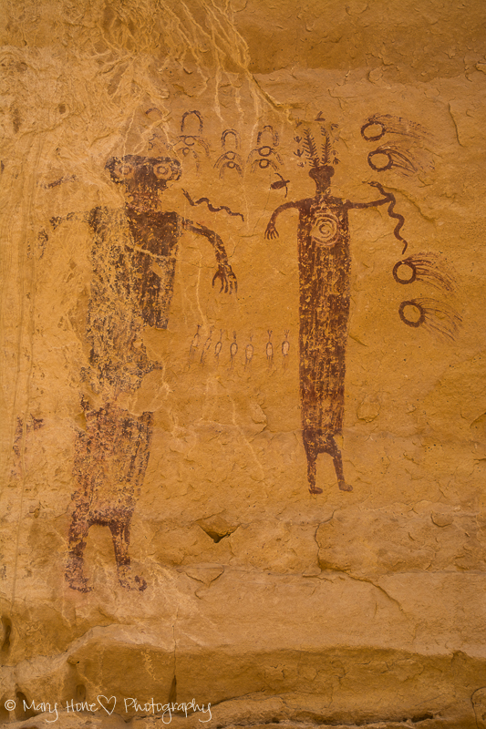 San Rafael swell pictographs