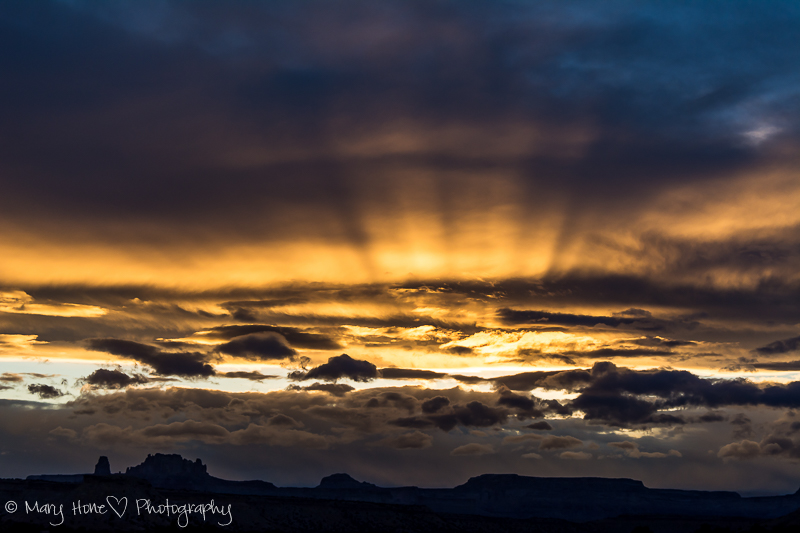 San Rafael swell sunset