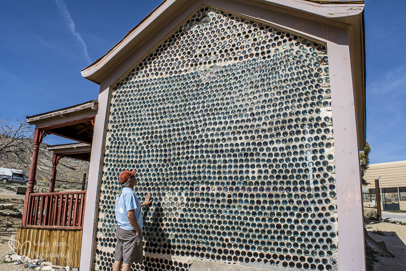 Rhyolite, Nevada Ghost Town bottle house