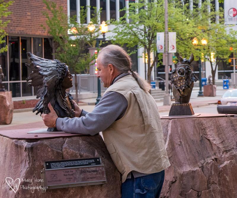 Mutual Admiration Society. Sioux Falls Sculpture Walk