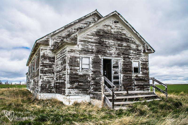 Old building in Nebraska
