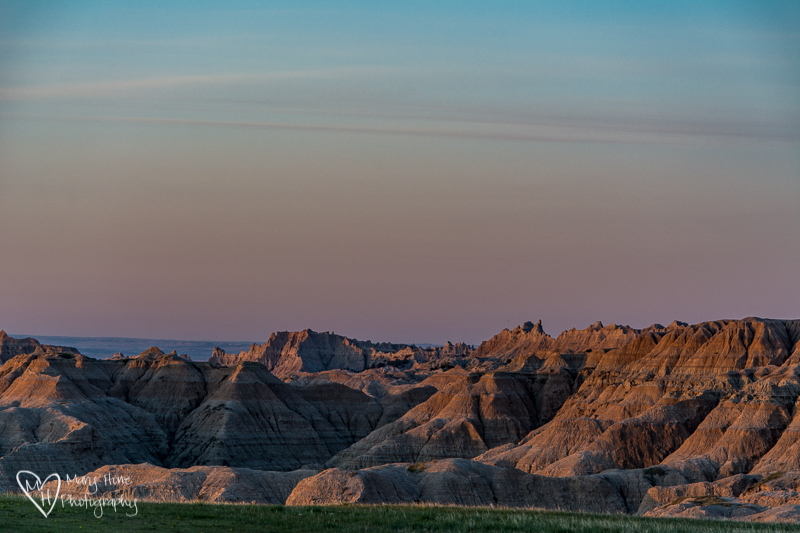 Boondocking near Badlands NP