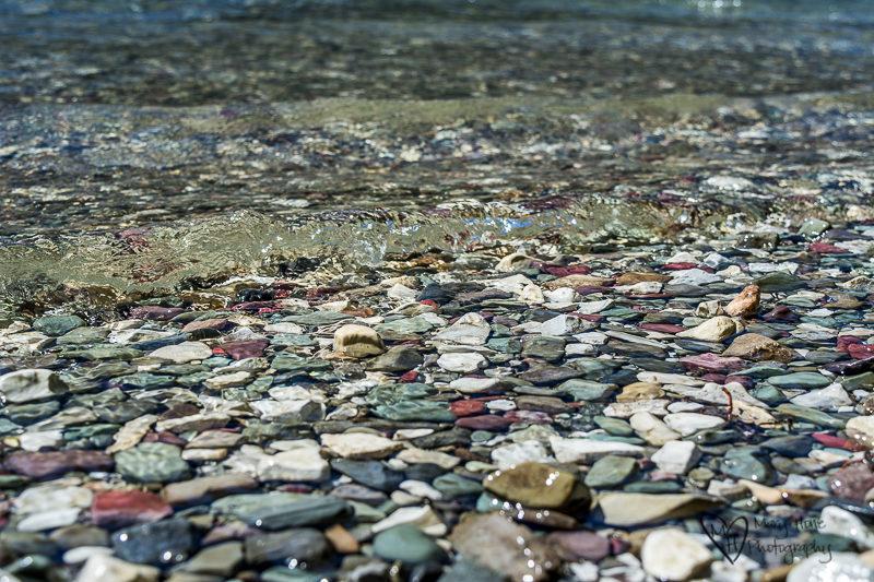 St. Mary's lake rocks