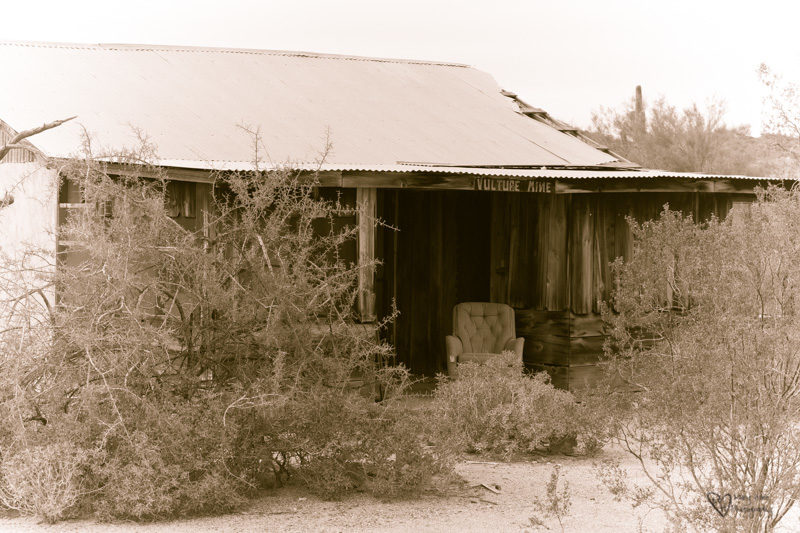 Abandoned forgotten building