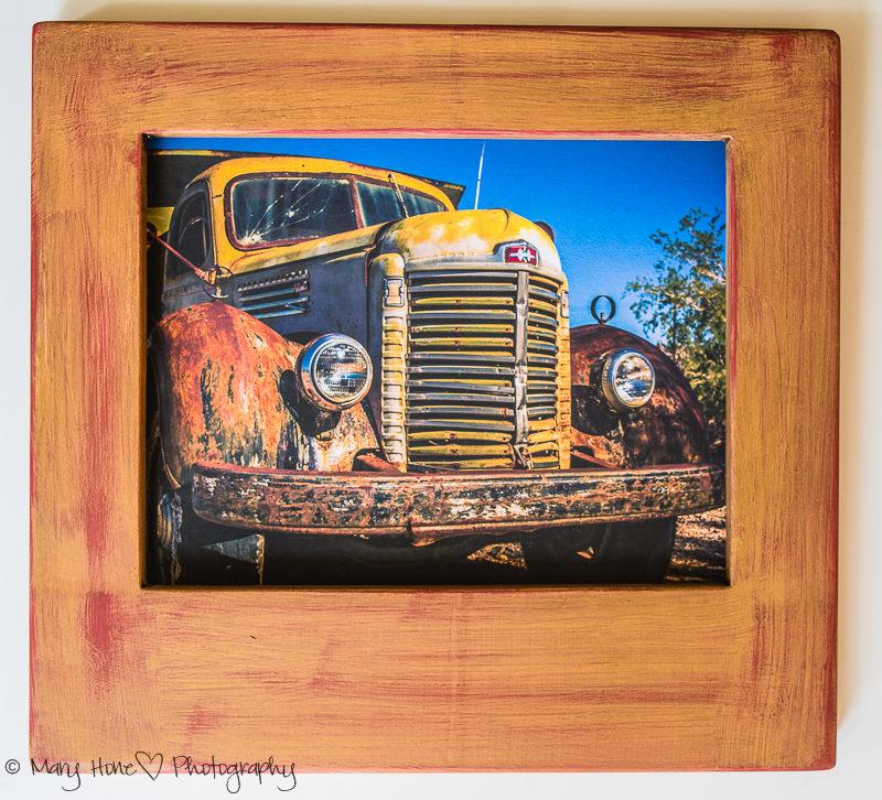 old truck 8 x 10 print