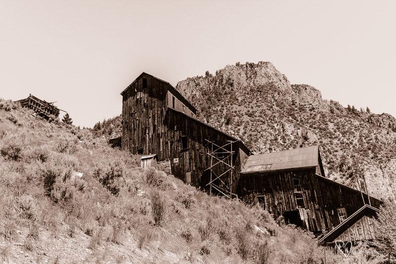 Bayhorse Ghost Town in Idaho