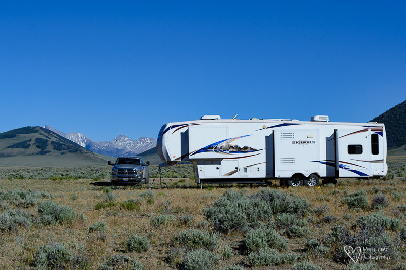 Boondocking in Idaho