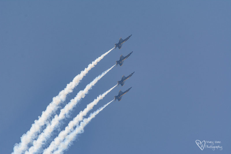 Blue Angels in Idaho Falls
