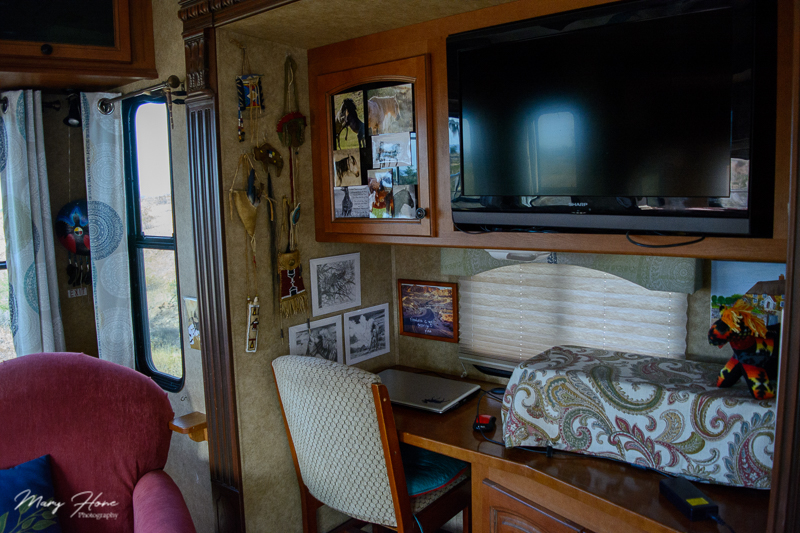 work space in my rv