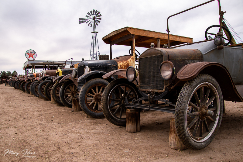 Cloud Museum-A Treasure of Old Rusty Things, model T