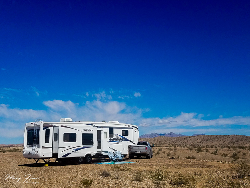 Boondocking at Lake Mead