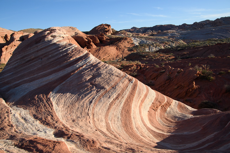 fire wave in valley of fire