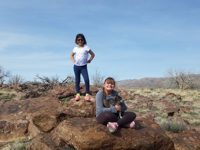 2nd Annual Wild Horse Camping Trip with the Nieces